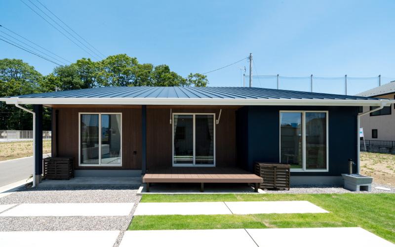 【2021年2月 NEW OPEN】デザイン平屋住宅「YOHACO-HIRAYA」見学会《託児付き》
